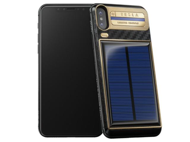 SỐC: iPhone X sạc điện từ năng lượng mặt trời, giá 103 triệu đồng