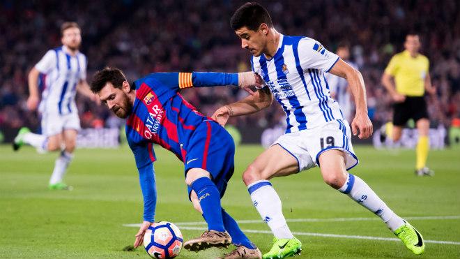 """Liga trước vòng 38: Messi - Barca lấy lại tinh thần, Real """"tập bắn"""" trước chung kết C1 - 1"""