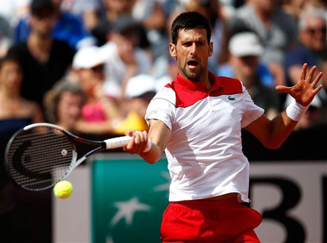 Djokovic - Ramos: Quả cú ngọt lịm, 2 set thăng hoa (Vòng 3 Rome Masters) - 1