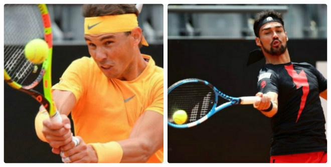 Nadal - Fognini: Những phút choáng váng, đánh như mơ ngủ (Tứ kết Rome Masters) - 1