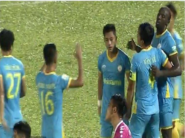 """Sài Gòn FC - S.Khánh Hòa: Phạt đền cay đắng, """"hú hồn"""" phút cuối"""
