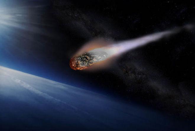 Một thiên thạch vừa bay sát Trái đất nhất trong vòng 2 thế kỷ qua - 1