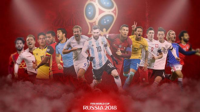 Siêu máy tính dự đoán đội vô địch World Cup 2018: Messi, Ronaldo ngã ngửa - 1