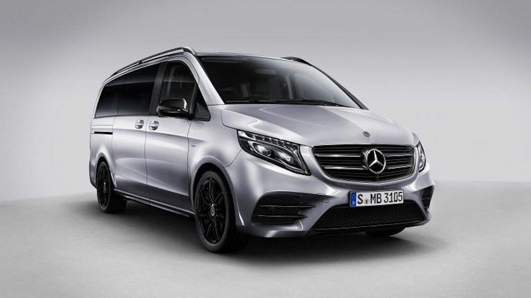Mercedes V-Class Night Edition: xe van cao cấp phong cách thể thao từ Mercedes-AMG - 1