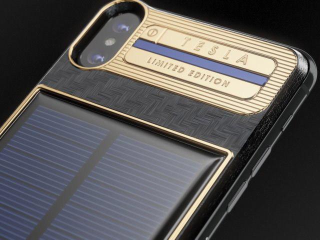 Chiếc iPhone X siêu đắt được trang bị pin năng lượng mặt trời