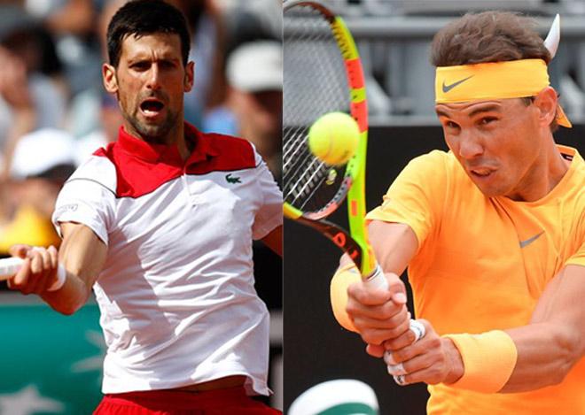 """Nadal quyết đấu Djokovic lần 51: Đại tiệc """"siêu anh hùng"""", tuyệt tác hội tụ - 1"""