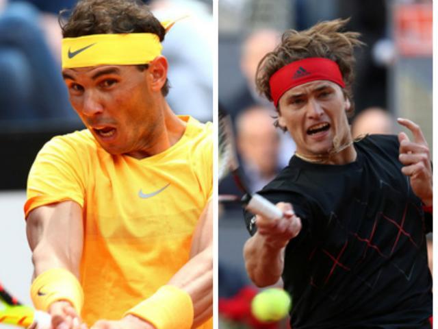 Chung kết Rome Masters: Vua đụng Hoàng tử, Nadal trước 3 cửa thiên đường