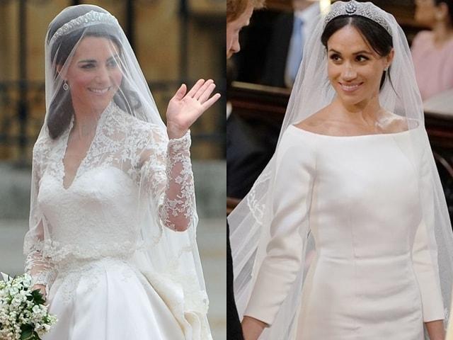 """Váy cưới của 2 công nương nước Anh, """"mỗi người một vẻ, mười phân vẹn mười"""""""