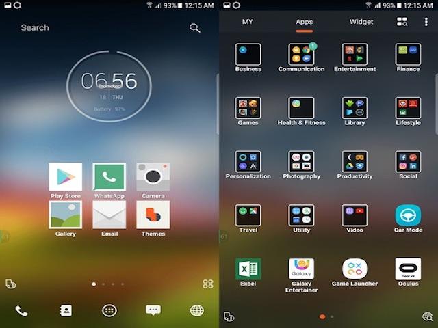 10 nền giao diện Android tốt nhất năm 2018