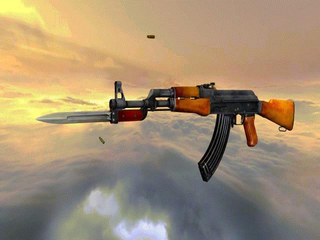 Súng trường tiến công AK-47, biểu tượng trên tay những người lính Việt Nam