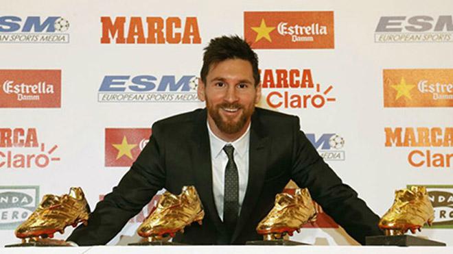 Messi 5-5 Ronaldo Bóng vàng: Giày vàng vô nghĩa, C1 & World Cup mới đỉnh - 1