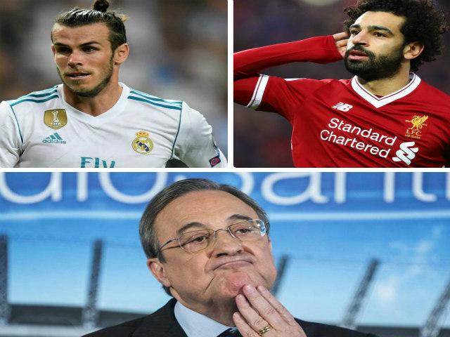"""Bóng đá - Real đấu Liverpool chung kết C1: """"Bố già"""" chơi chiêu, gạ đổi Bale lấy Salah"""
