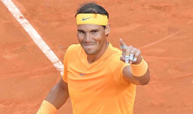 """Nadal - 8 lần vô địch Rome Masters: Xứng danh """"Ông hoàng sân đất nện"""" - 1"""