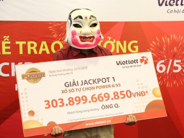 Sợ lộ mặt, người trúng jackpot 300 tỉ luôn tay làm hành động này