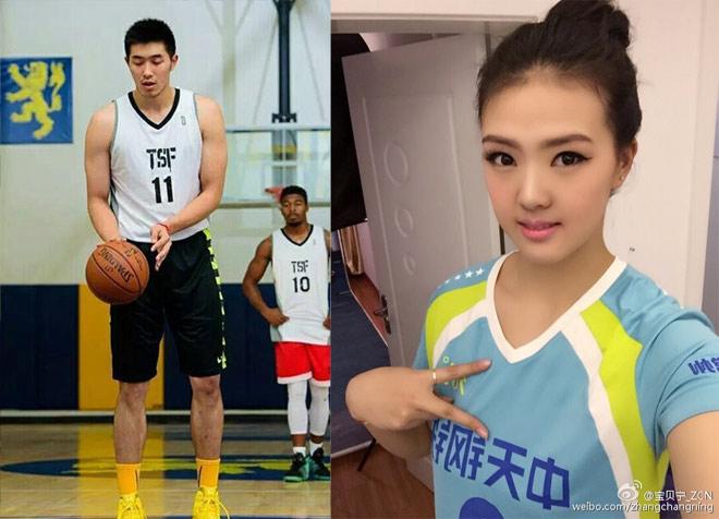 """Trai đẹp 2m08 yêu mỹ nữ 1m93: Cặp đôi """"khổng lồ"""", Trung Quốc xôn xao - 1"""