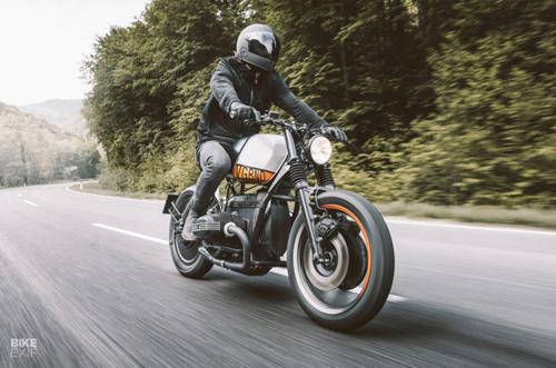 Vagabund Moto định hình lại phong cách BMW R80 RT - 1