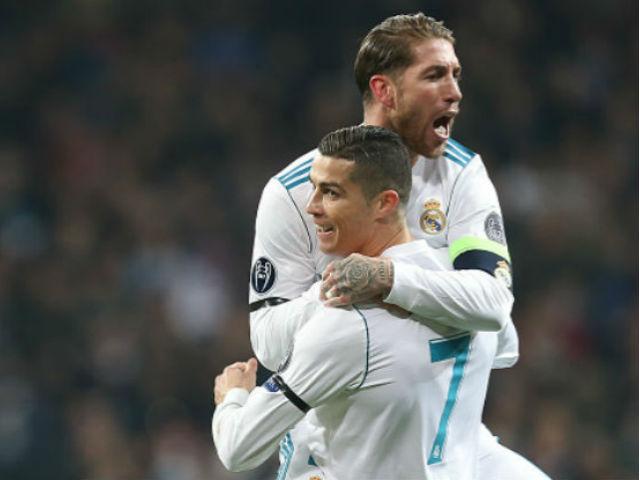 """Chung kết Real - Liverpool: 2 """"đại ca"""" Ronaldo - Ramos họp kín, Zidane bị ra rìa"""