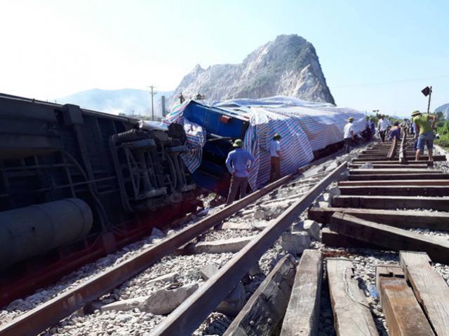 Chính thức thông tàu sau tai nạn thảm khốc tàu hỏa ở Thanh Hóa