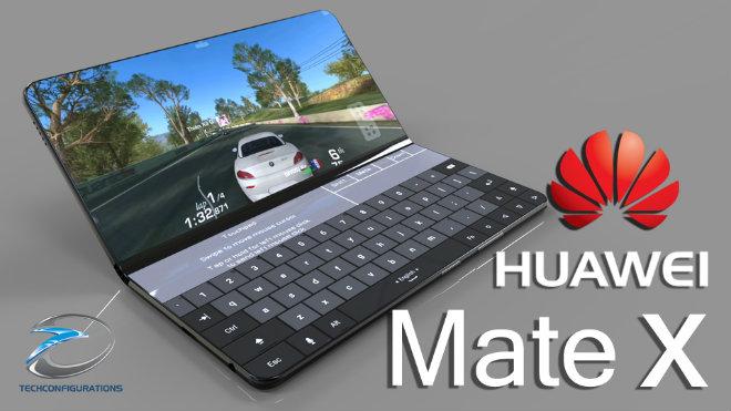 Điện thoại gập Huawei Mate X lộ diện đe nẹt Samsung Galaxy X - 1