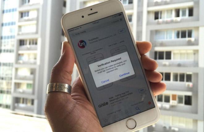 Tắt yêu cầu xác thực khi cài đặt ứng dụng miễn phí trên iOS - 1