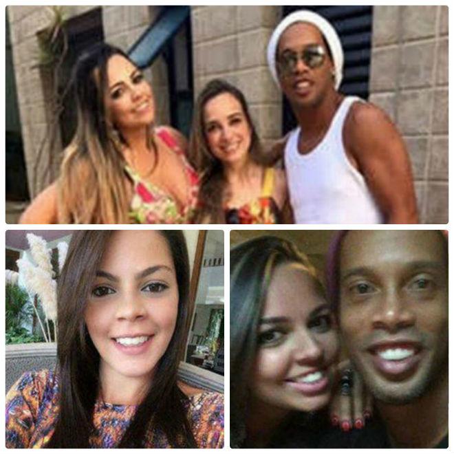 Ronaldinho gây sốc: Cưới liền 2 vợ sướng như vua, thế giới ngỡ ngàng - 1