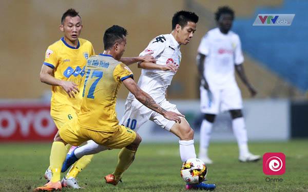 Vòng 9 V- League: Đại chiến Hà Nội - Thanh Hóa ở Hàng Đẫy - 1