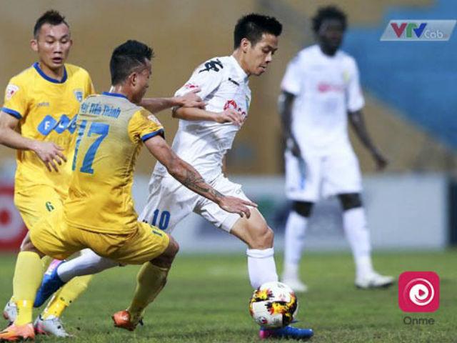 Vòng 9 V- League: Đại chiến Hà Nội - Thanh Hóa ở Hàng Đẫy