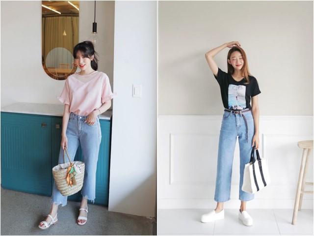 Mặc quần jean nào trong mùa hè không sợ nóng?