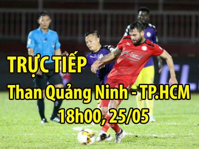 TRỰC TIẾP Than Quảng Ninh - TP.HCM: Ăn miếng trả miếng