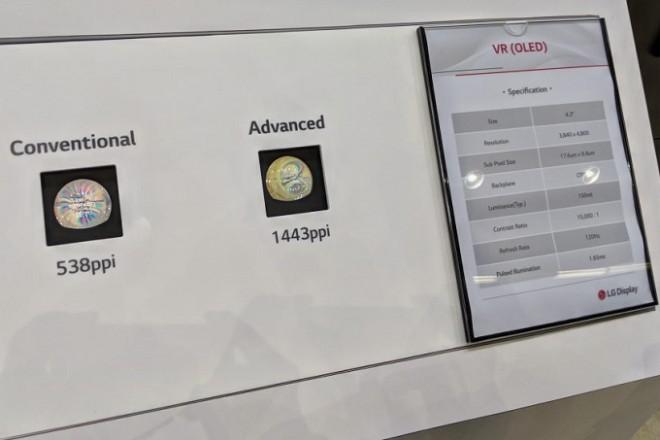 Google và LG Display phát triển màn hình OLED đỉnh cao cho tai nghe VR - 1
