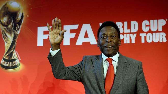 """Tin nóng World Cup 26/5: """"Vua bóng đá"""" Pele được phép dự World Cup 2018 - 1"""