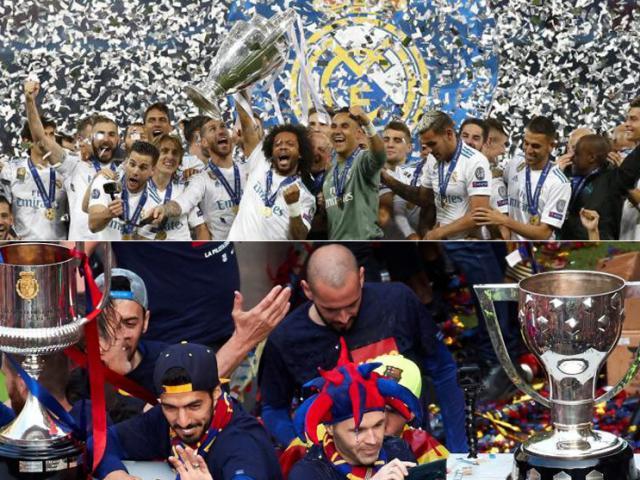 Real Madrid đoạt cúp C1: Chuyên gia phá tiệc vui cú đúp của Barcelona