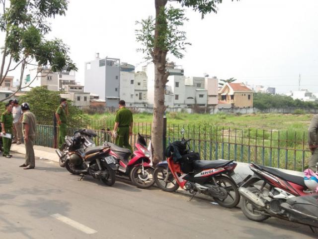 Trẻ sơ sinh bị heo rừng tha trong bãi đất trống ở SG