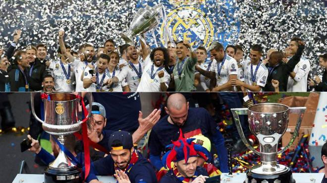 Real Madrid đoạt cúp C1: Chuyên gia phá tiệc vui cú đúp của Barcelona - 1