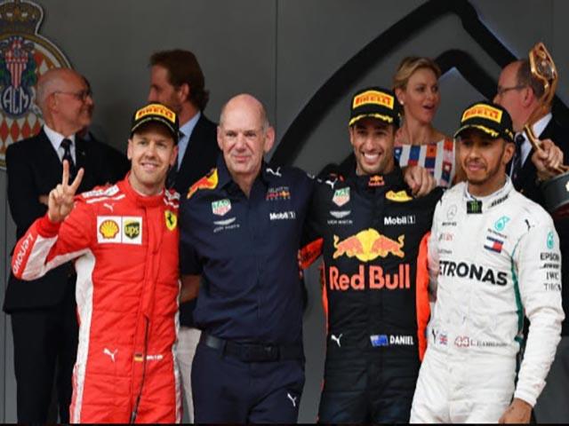 """Đua xe F1, Monaco GP: Áp lực dồn dập, """"tấn công"""" liên hồi"""