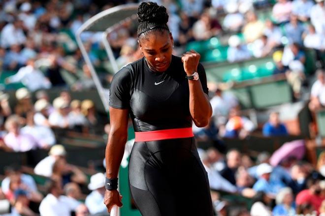 Serena Williams - Pliskova: Căng thẳng kịch tính, vỡ òa cảm xúc - 1