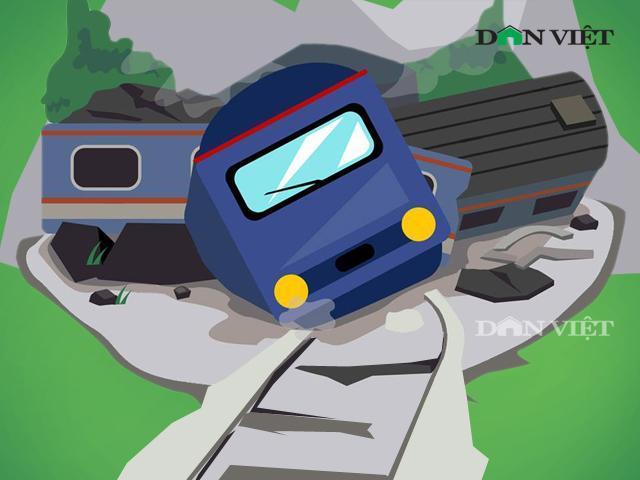 """Infographic: """"Ai còn tin vào đường sắt, ai còn dám đi tàu?"""""""