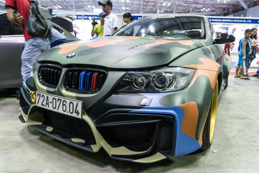 BMW 325i độ khủng tại Giải thi đấu Âm thanh Xe hơi Việt Nam 2018 - 1
