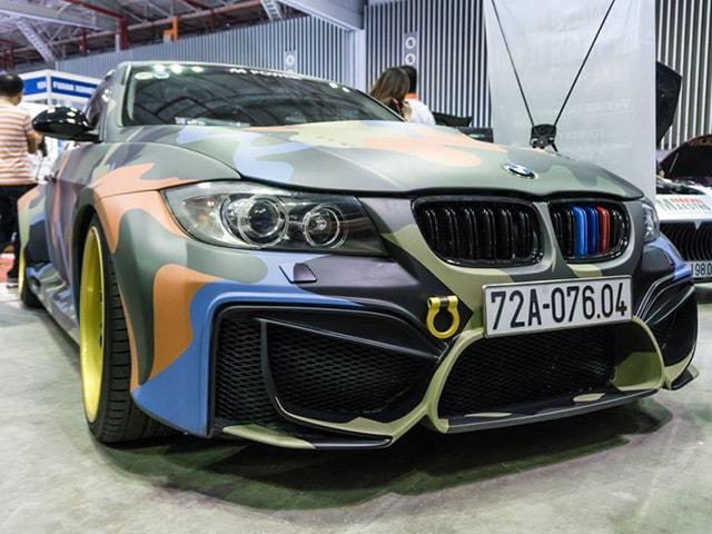 BMW 325i độ khủng tại Giải thi đấu Âm thanh Xe hơi Việt Nam 2018