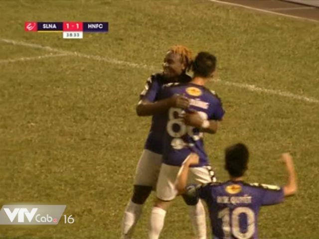 Video, kết quả bóng đá SLNA - Hà Nội: Quá nhiều sai lầm, 3 bàn mãn nhãn (H1)
