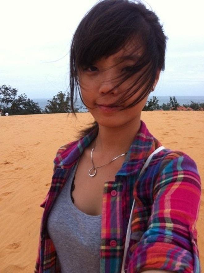 Hot girl Lâm Á Hân nữ tính hơn khi tái xuất tại The Face - 1