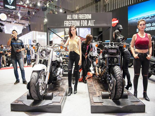 Loạt môtô phân khối lớn quần tụ tại Vietnam AutoExpo 2018