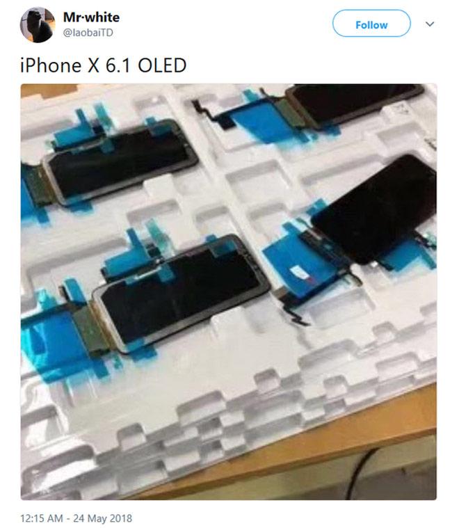 Apple sẽ dùng màn hình OLED cho cả ba iPhone 2018 - 1