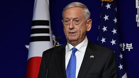 """Bộ trưởng Quốc phòng Mỹ gửi thông điệp """"cứng rắn"""" tới Trung Quốc - 1"""