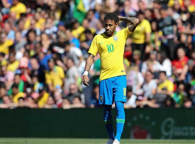 Neymar mới đạt 80% công lực, vẫn ghi siêu phẩm cháy lưới Croatia - 1