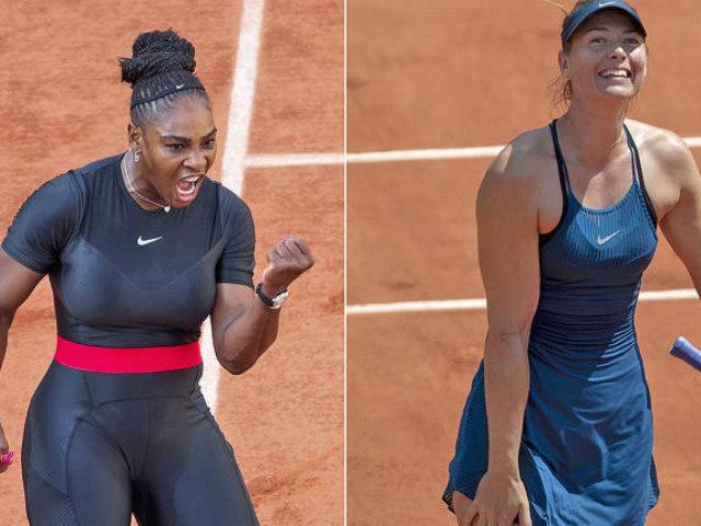 Bất ngờ Serena - Sharapova: Bỏ cuộc vì chấn thương (V4 Roland Garros)