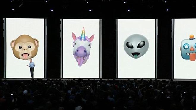 Animoji đã có thể phát hiện lưỡi, thêm 4 nhân vật hoạt hình mới - 1