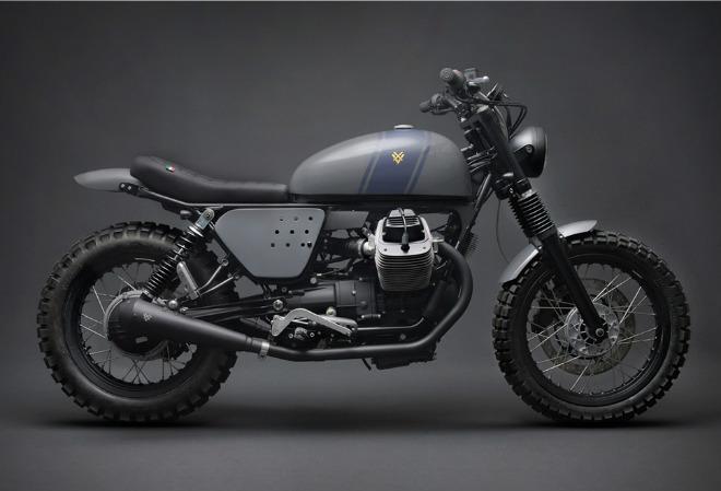 Ngắm Venier Moto Guzzi Scrambler bản đóng tay tuyệt đẹp - 1