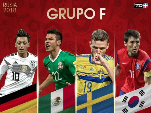 """Nhận định bảng F World Cup 2018: """"Nhà vua"""" ra oai, hậu bối thầy Park gây sốc?"""