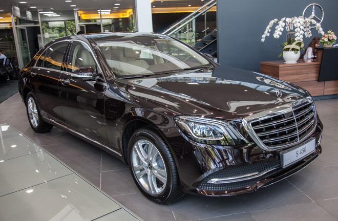 """Ngắm nội thất """"cực sang trọng"""" của Mercedes-Benz S450L sắp ra mắt - 1"""